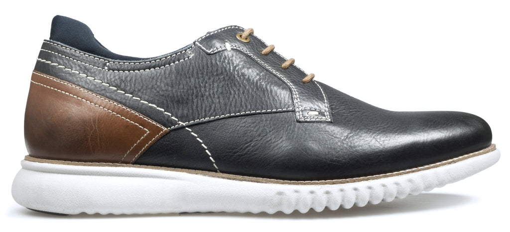 MUSTANG S/S18MensLogues ShoesNAVY/TAN / 50  = 15 UK