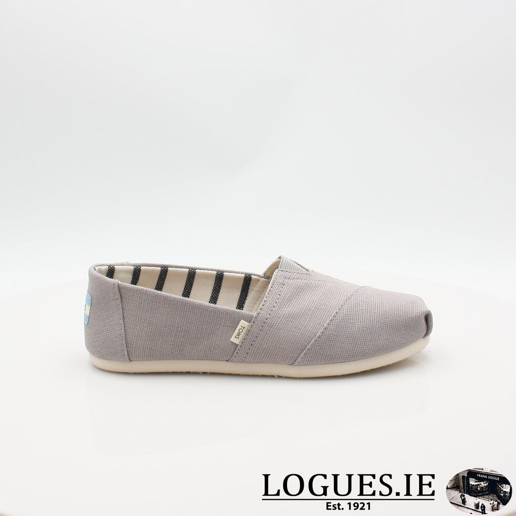 10011665 MORNING DOVE TOMS S19LadiesLogues ShoesGREY / 3 UK- 36 EU - 5 US