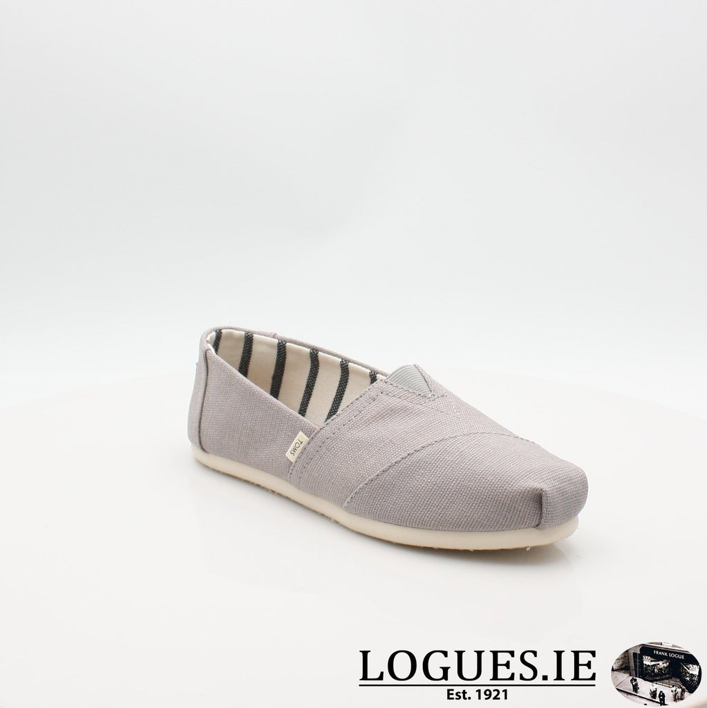 10011665 MORNING DOVE TOMS S19LadiesLogues ShoesGREY / 4 UK -37 EU - 6 US