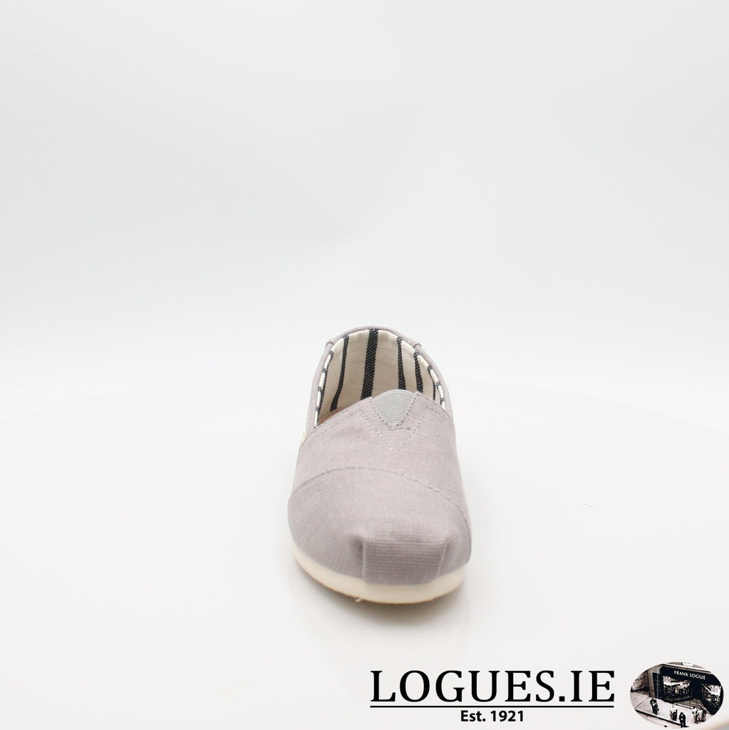 10011665 MORNING DOVE TOMS S19LadiesLogues ShoesGREY / 5 UK- 38 EU- 7 US