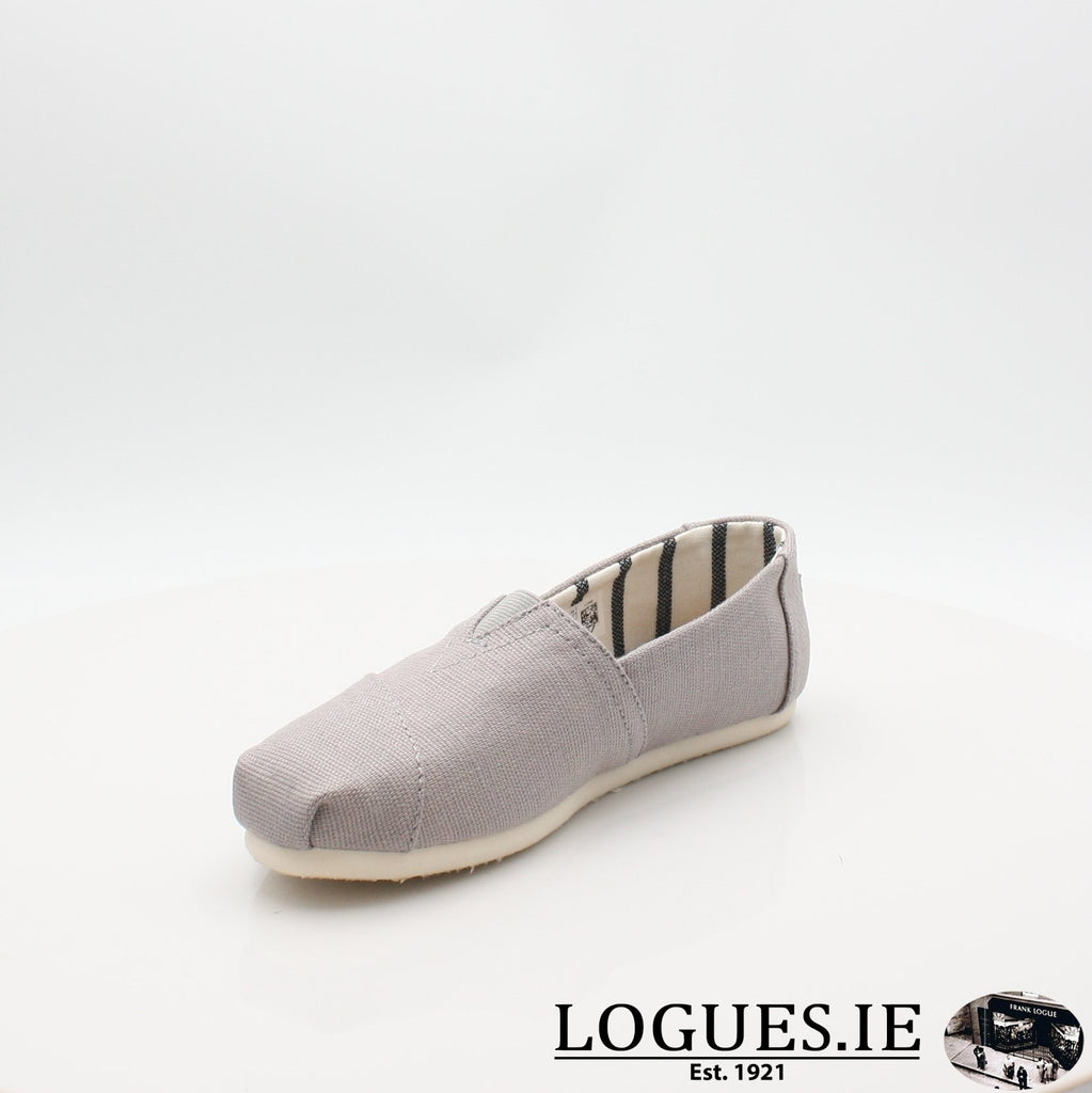10011665 MORNING DOVE TOMS S19LadiesLogues ShoesGREY / 6 UK- 39 EU - 8 US