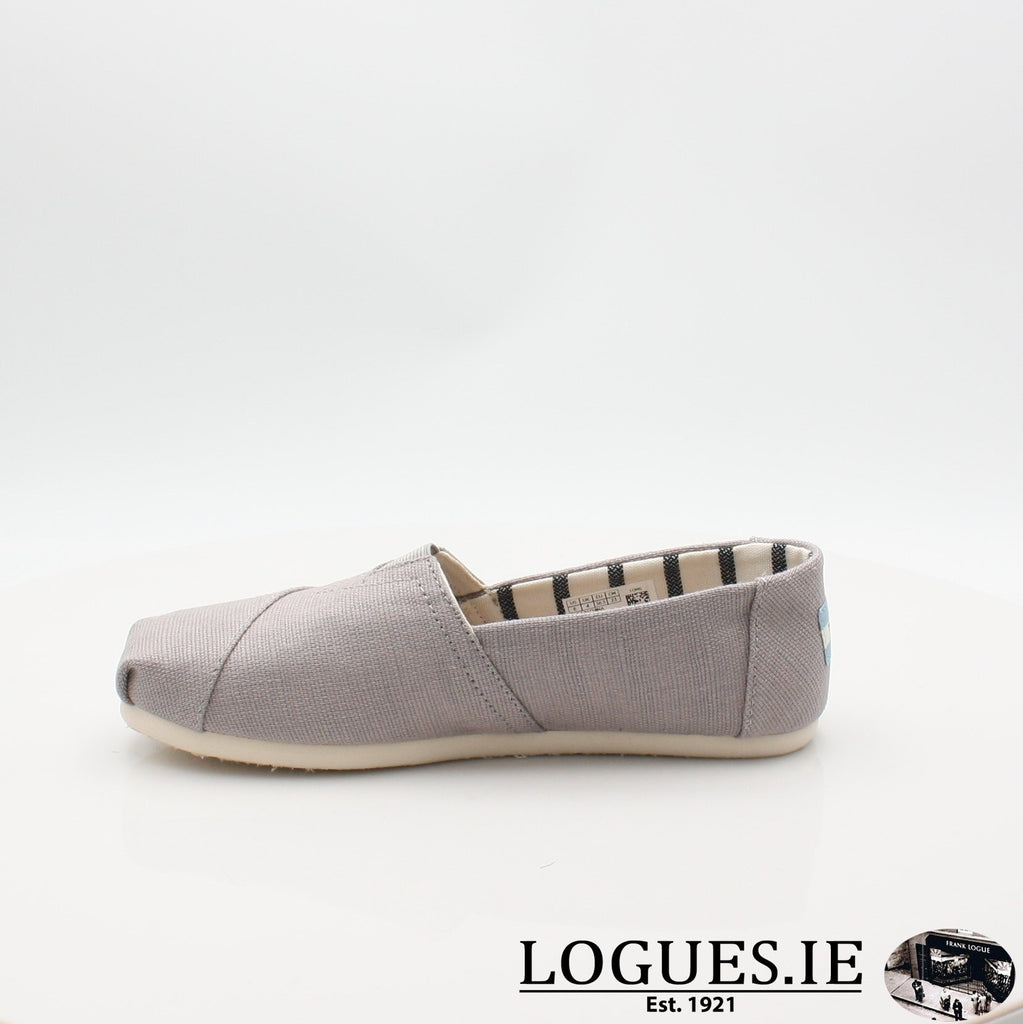 10011665 MORNING DOVE TOMS S19LadiesLogues ShoesGREY / 7 UK- 41 EU - 9 US