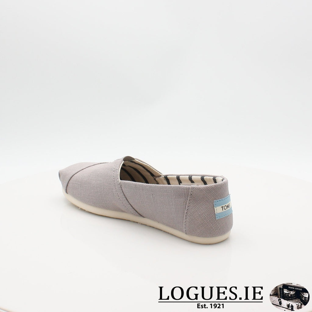 10011665 MORNING DOVE TOMS S19LadiesLogues ShoesGREY / 8 UK - 42 EU -10 US