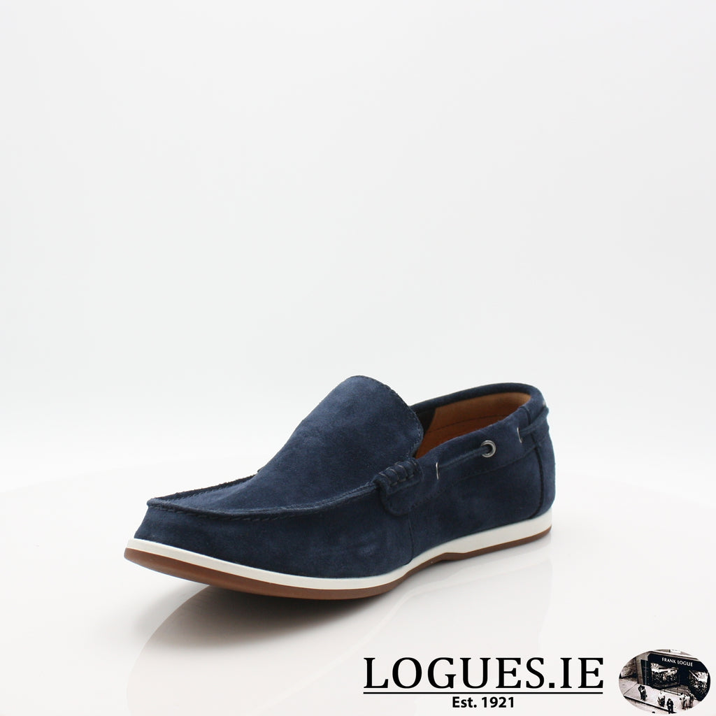 Morven Sun CLARKS 19-Mens-Clarks-Navy-060-G-Logues Shoes