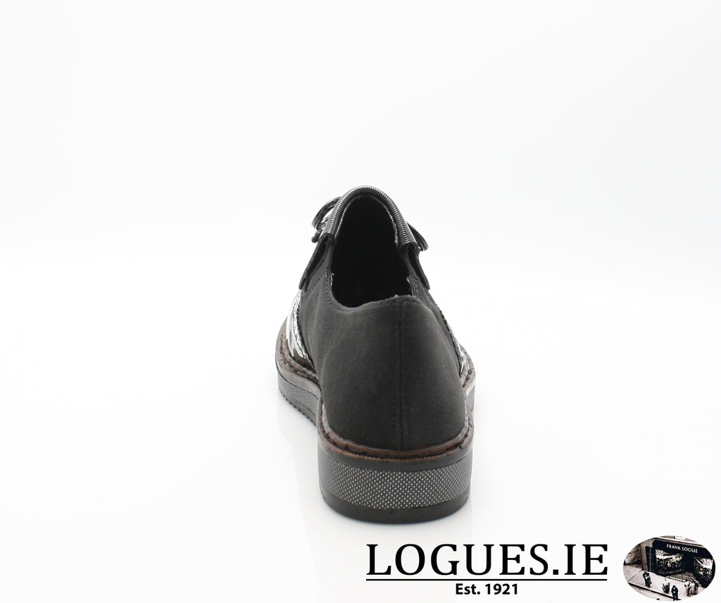 N0372 RIEKER 19, Ladies, RIEKIER SHOES, Logues Shoes - Logues Shoes.ie Since 1921, Galway City, Ireland.