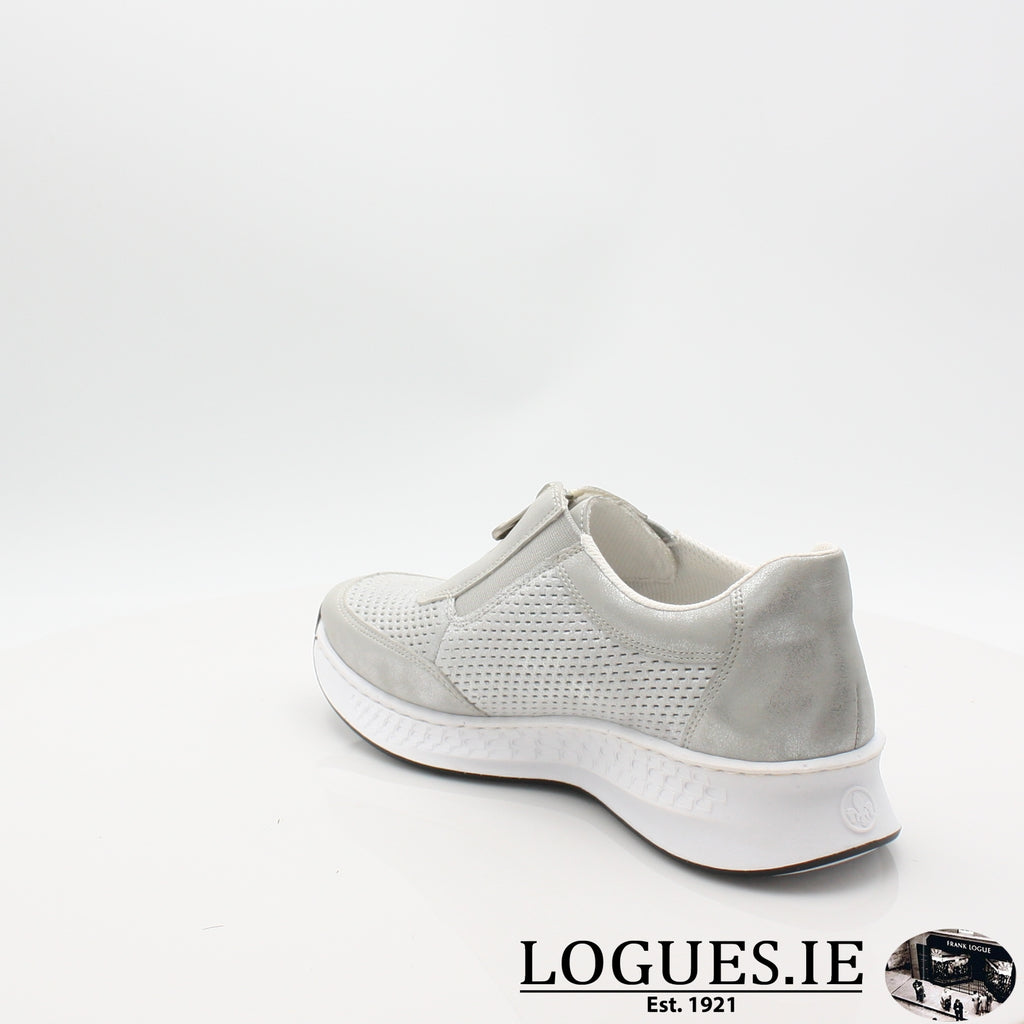 N5657  RIEKER 19LadiesLogues Shoesgrey 40 / 39