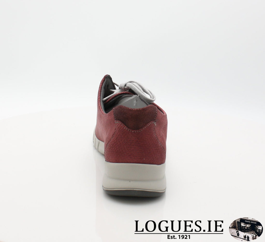 9204 NINA SUAVE A/W18-Ladies-SUAVE SHOES CONOS LTD-GARNET/MONZA-42 = 8 UK-Logues Shoes