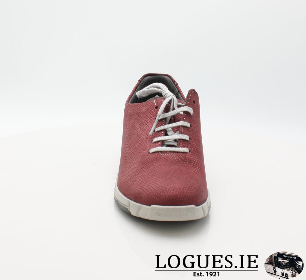 9204 NINA SUAVE A/W18-Ladies-SUAVE SHOES CONOS LTD-GARNET/MONZA-38 = 5UK-Logues Shoes