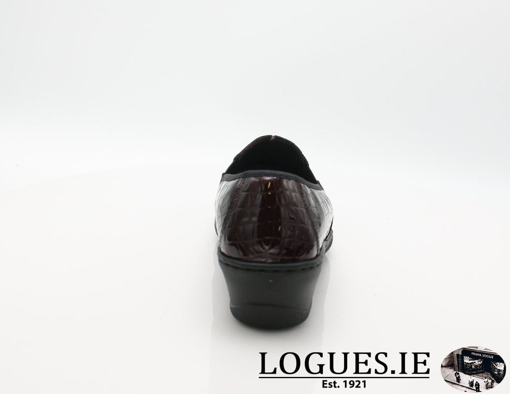 2298 NOTTON W 2018LadiesLogues ShoesBORDEAUX / 41 = 7/8 UK