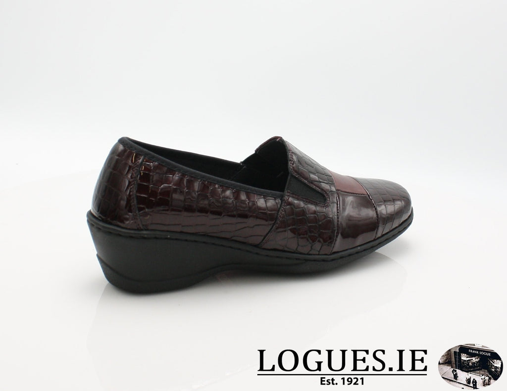 2298 NOTTON W 2018LadiesLogues ShoesBORDEAUX / 42 = 8 UK
