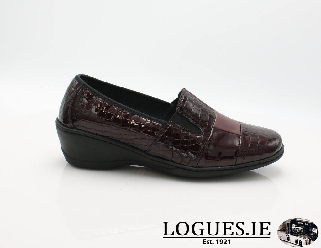 2298 NOTTON W 2018LadiesLogues ShoesBORDEAUX / 36 = 3 UK