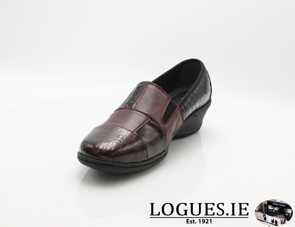 2298 NOTTON W 2018LadiesLogues ShoesBORDEAUX / 38 = 5UK