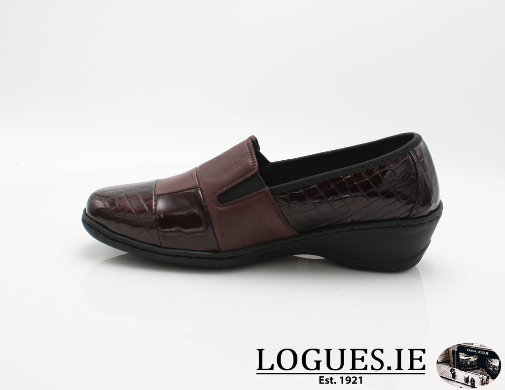 2298 NOTTON W 2018LadiesLogues ShoesBORDEAUX / 39 = 6 UK