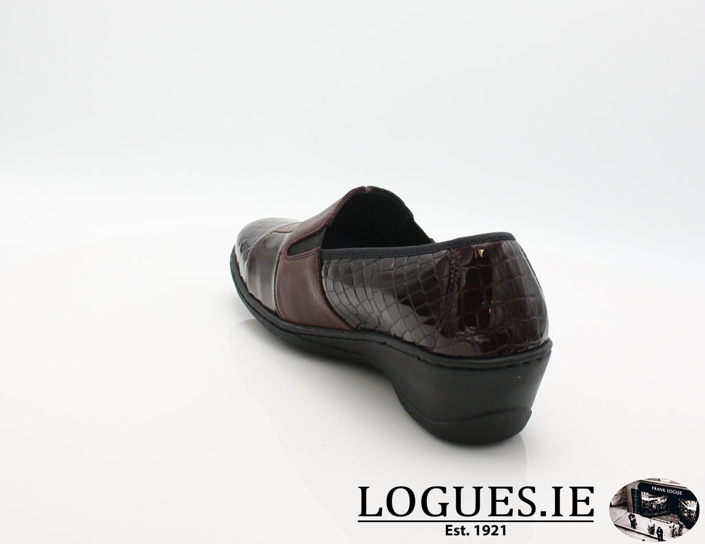 2298 NOTTON W 2018LadiesLogues ShoesBORDEAUX / 40 = 6.5/7 UK