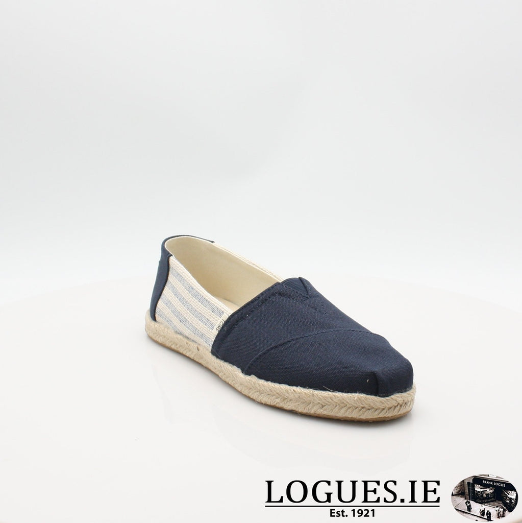 10013504 ALPARGATA TOMS S19LadiesLogues ShoesNAVY / 5 UK- 38 EU- 7 US