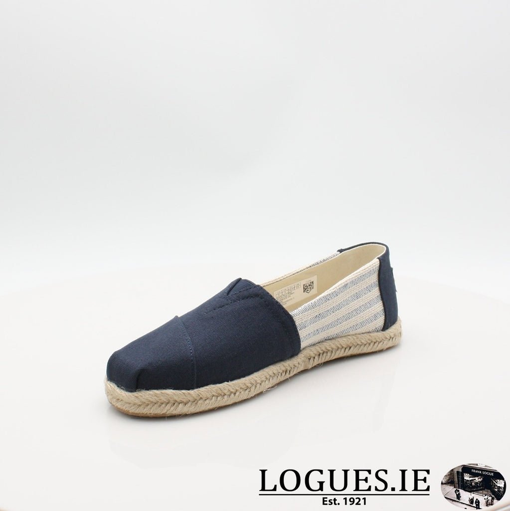 10013504 ALPARGATA TOMS S19LadiesLogues ShoesNAVY / 7 UK- 41 EU - 9 US
