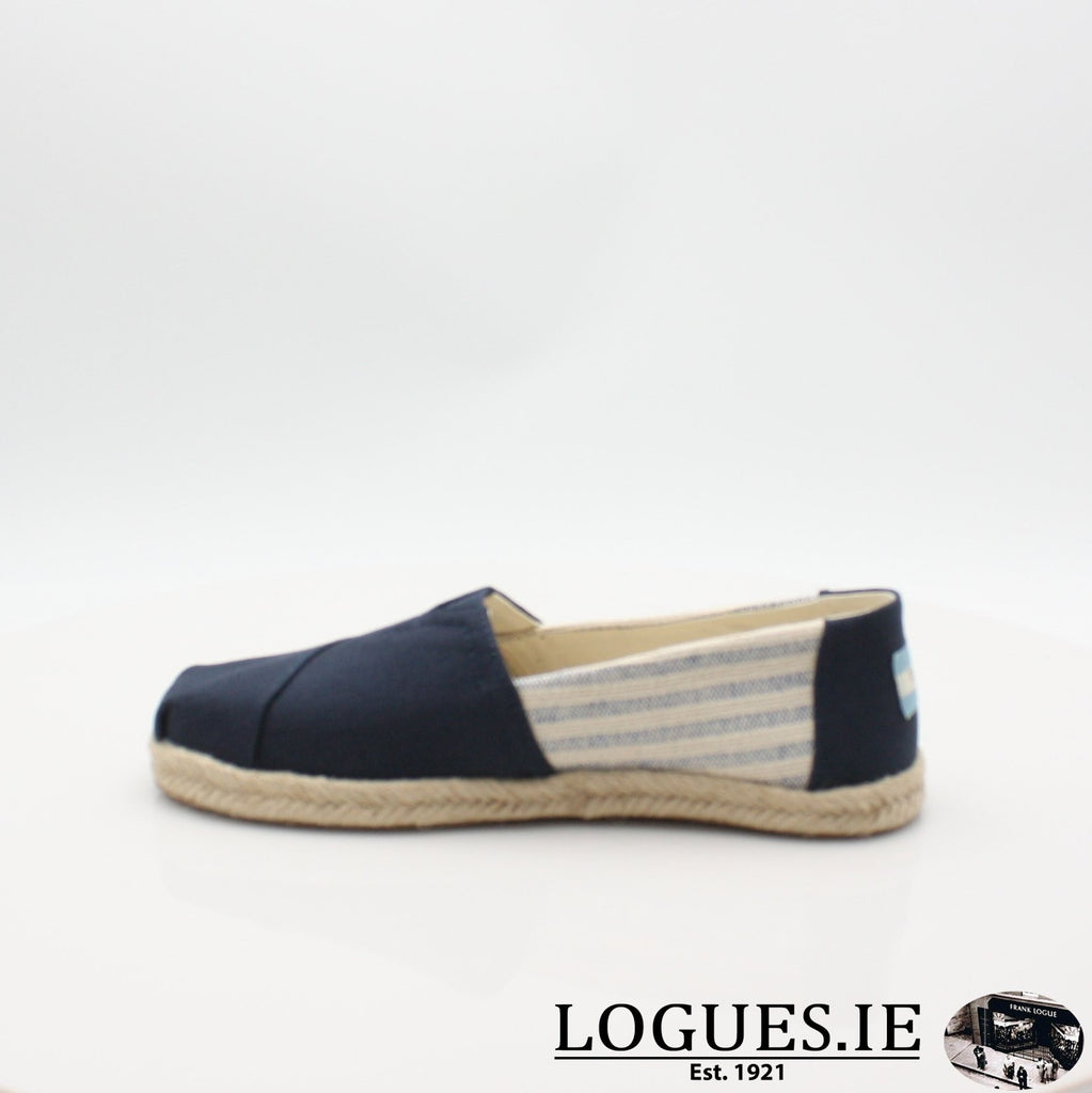 10013504 ALPARGATA TOMS S19LadiesLogues ShoesNAVY / 8 UK - 42 EU -10 US
