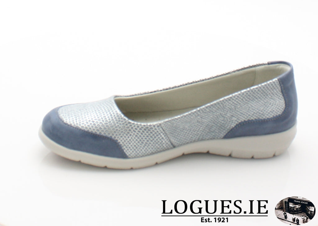 LESLEY SUAVE S/S 18-Ladies-SUAVE SHOES CONOS LTD-COBALT-AQUA-36 = 3 UK-Logues Shoes