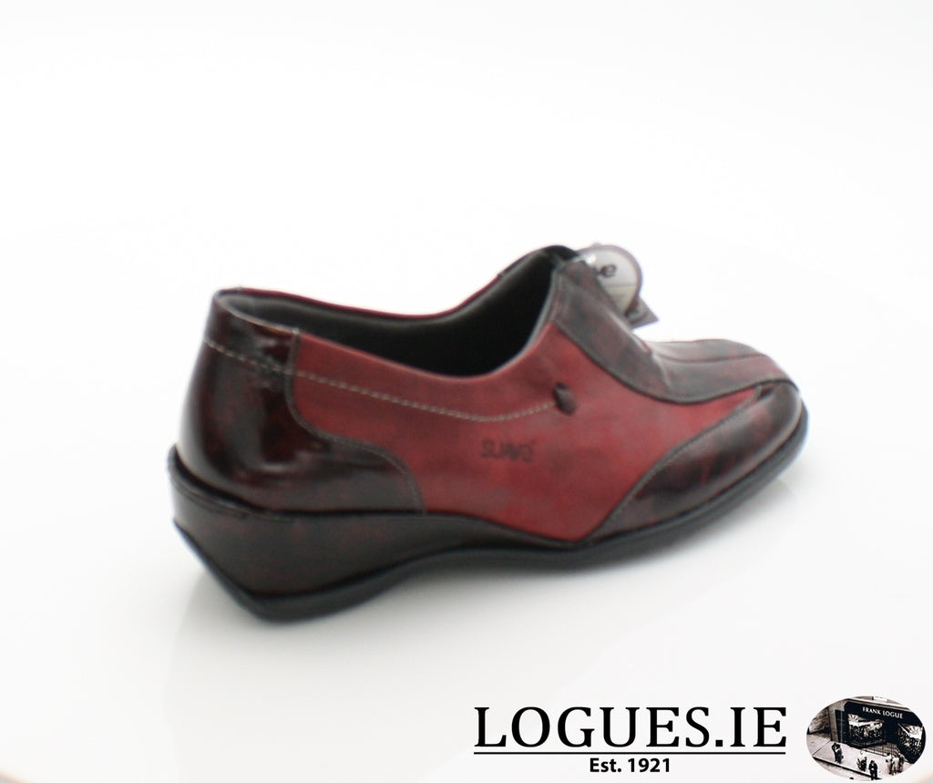 ONION aw17-Ladies-SUAVE SHOES CONOS LTD-BURG-PAPRIKA-36 = 3 UK-Logues Shoes