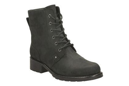 CLA Orinoco SpiceLadiesLogues ShoesBlack Leather / 090 / D