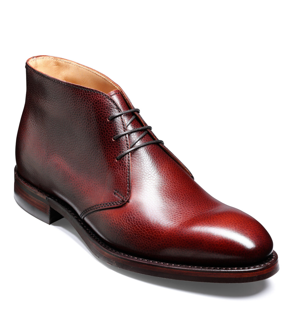 ORKNEY BARKER-Mens-BARKER SHOES-CHERRY-6-Logues Shoes