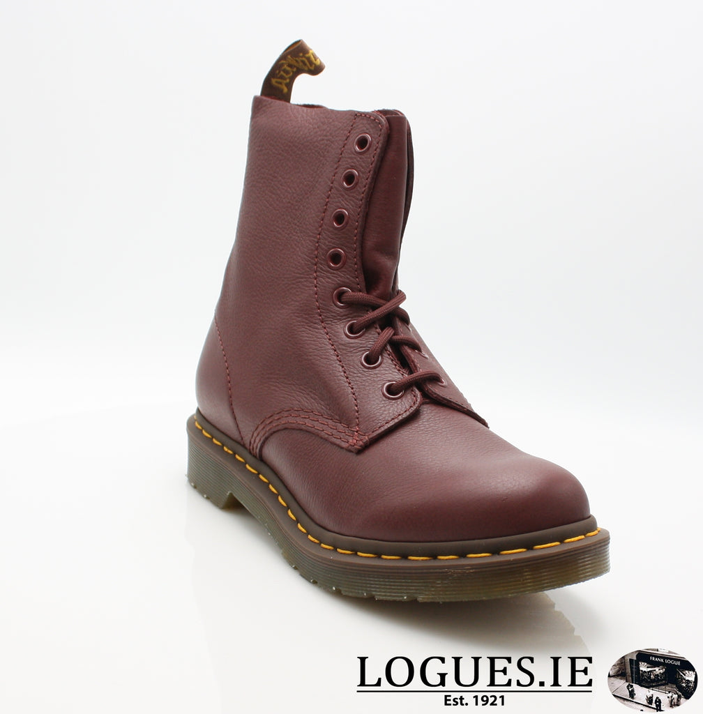 PASCAL 13512 DR MARTENS-Ladies-Dr Martins-411 CHERRY RED-4-Logues Shoes
