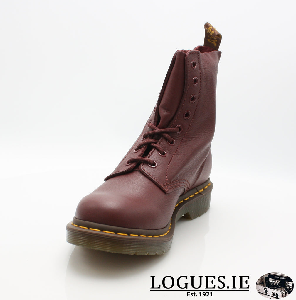 PASCAL 13512 DR MARTENS-Ladies-Dr Martins-411 CHERRY RED-5-Logues Shoes