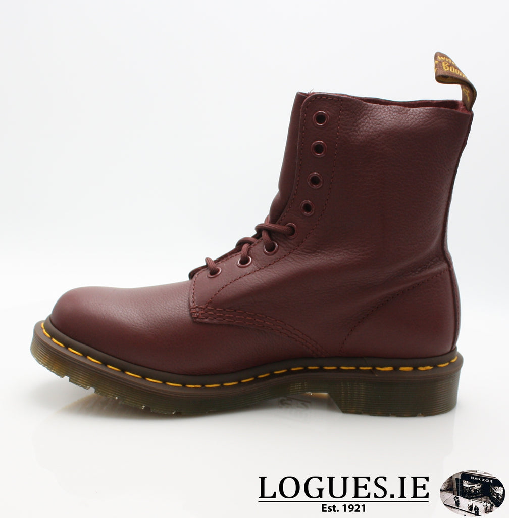 PASCAL 13512 DR MARTENS-Ladies-Dr Martins-411 CHERRY RED-6-Logues Shoes