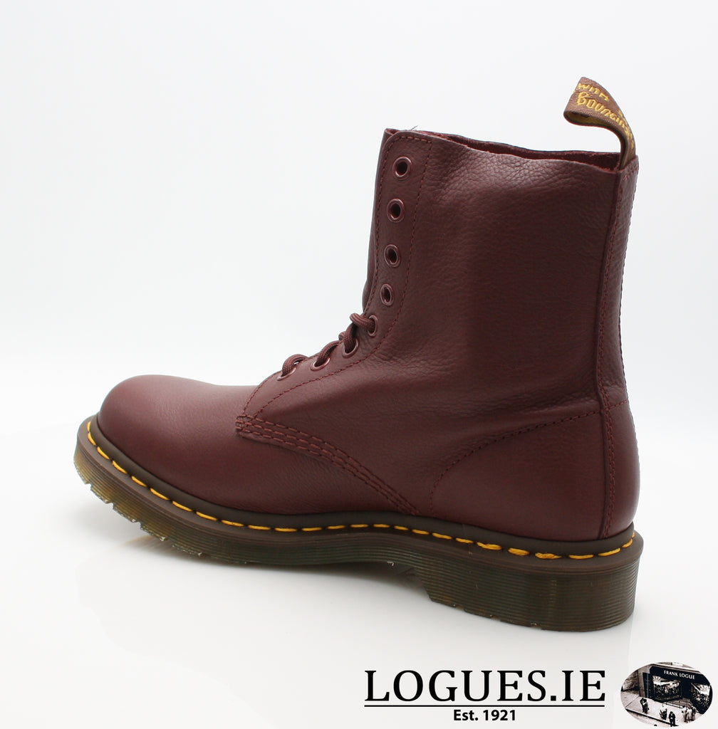 PASCAL 13512 DR MARTENS-Ladies-Dr Martins-411 CHERRY RED-7-Logues Shoes