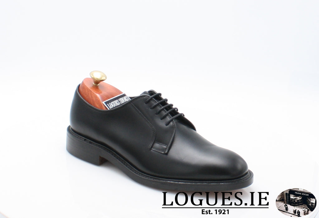 PERTH LOAKE-SALE-LOAKE SHOES-Black-7-F-Logues Shoes