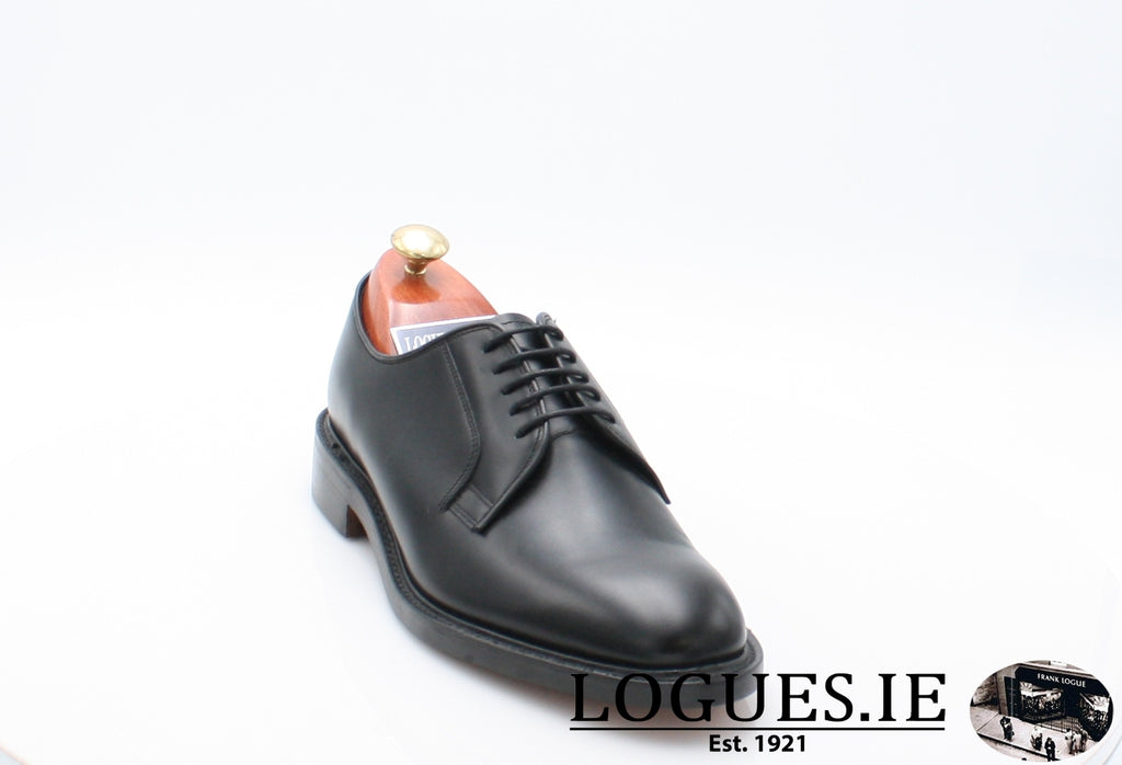 PERTH LOAKE-SALE-LOAKE SHOES-Black-7½-F-Logues Shoes