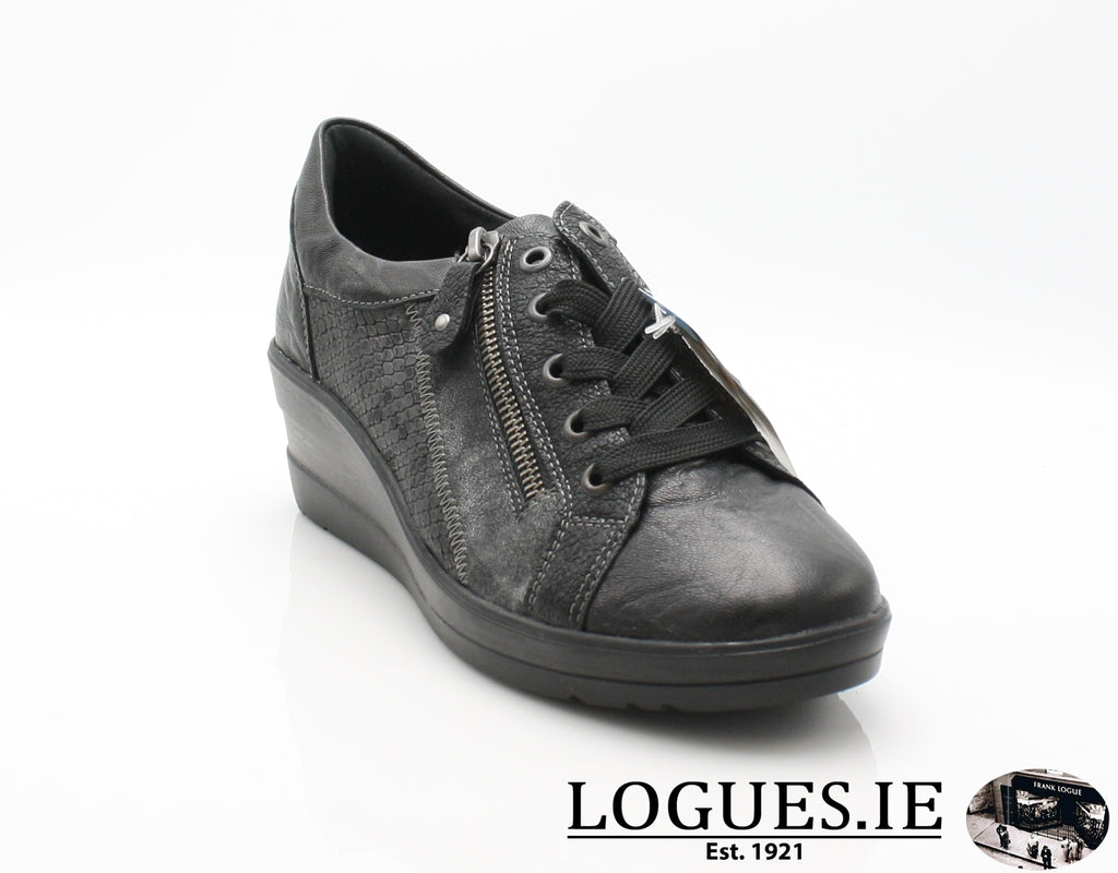 R7206 REMONTE 19-Ladies-RIEKIER SHOES-schwarz/schwarz/g 02-36-Logues Shoes
