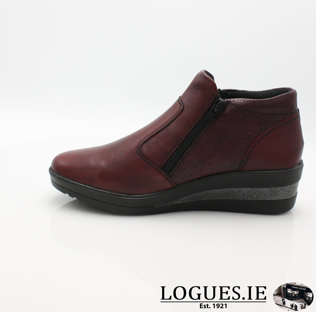 RKR R7270-Ladies-RIEKIER SHOES-chianti/bordeaux 35-36-Logues Shoes