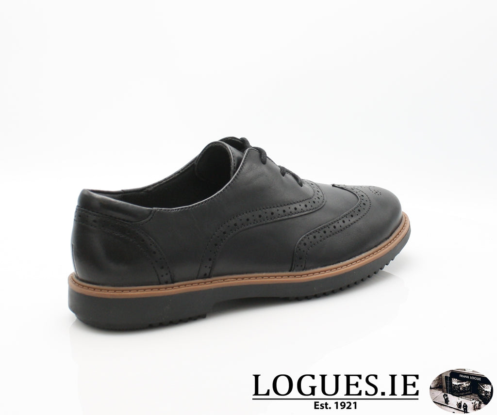 CLA Raisie Hilde-Ladies-Clarks-Black-080-D-Logues Shoes