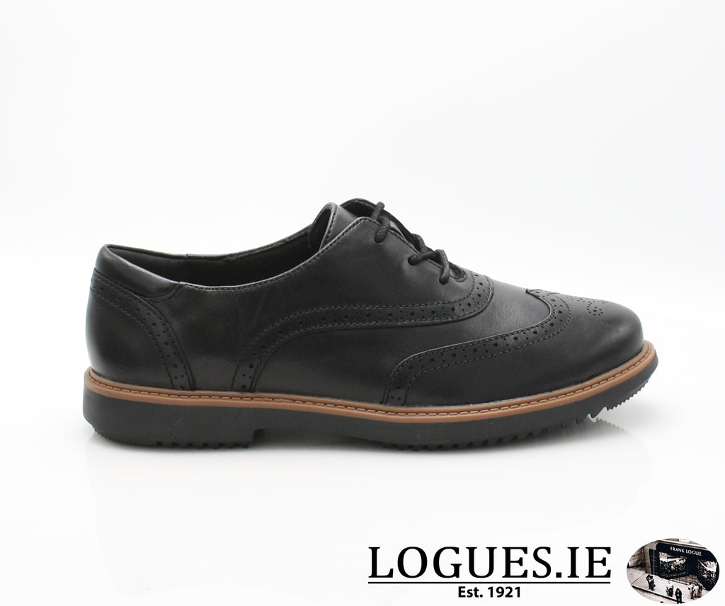 CLA Raisie Hilde-Ladies-Clarks-Black-040-D-Logues Shoes