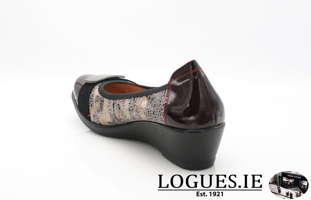 RAMIRO INEA A/W18-Ladies-INEA SHOES-16 BORDEAUX-ARABAS-36 = 3 UK-Logues Shoes
