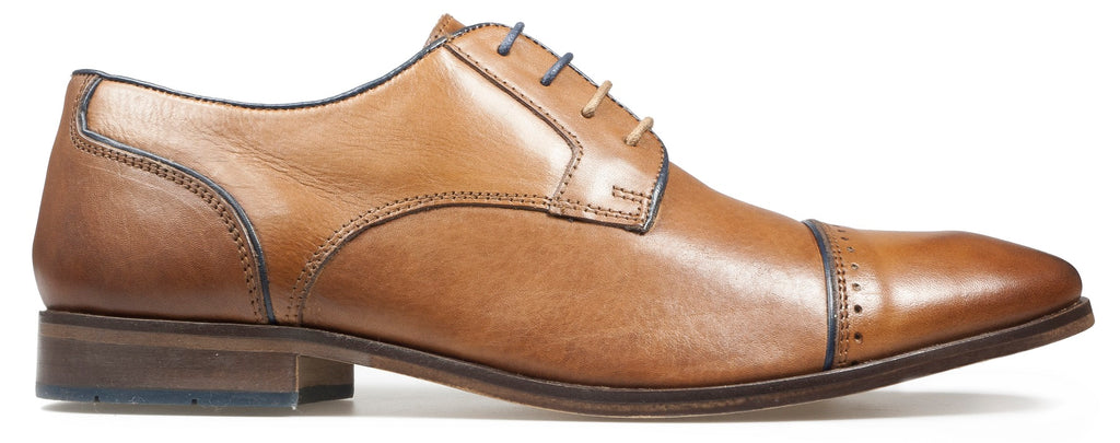 REGUS A/W18-Mens-POD SHOES-COGNAC-40 = 6.5 UK-Logues Shoes