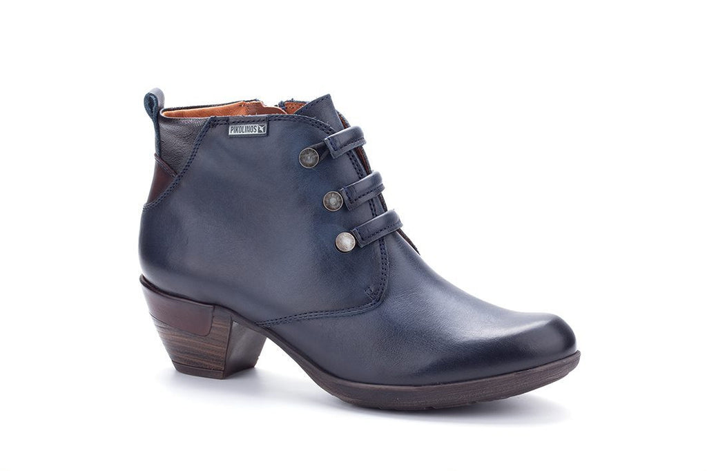 8746 PIKOLINOS 19 ROTTERDAMLadiesLogues ShoesNAVY / 8 UK - 42 EU -10 US