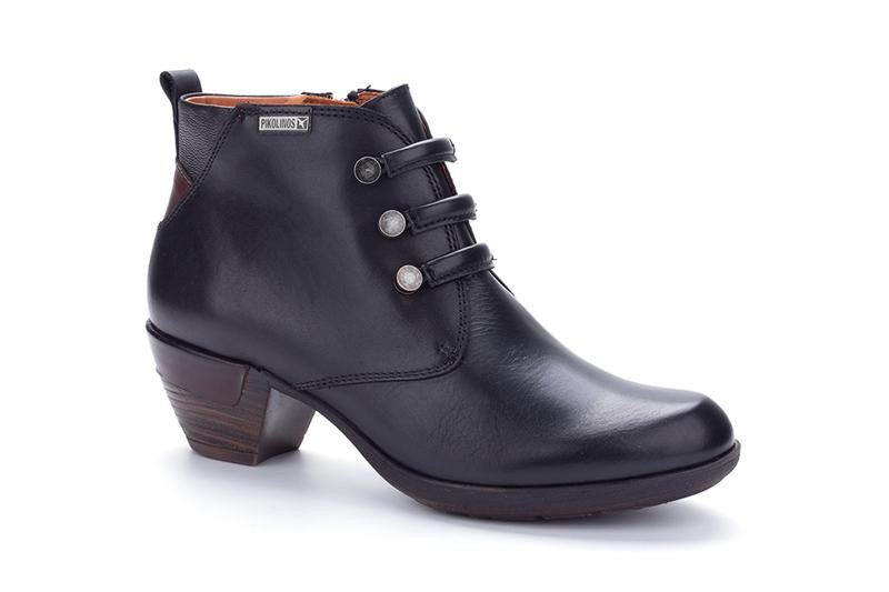8746 PIKOLINOS 19 ROTTERDAMLadiesLogues ShoesBLACK / 8 UK - 42 EU -10 US