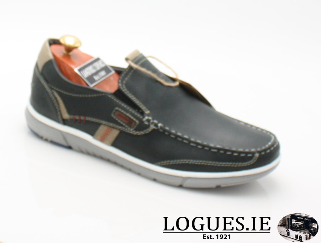 RAVEN A/W18-Mens-POD SHOES-NAVY-40 = 6.5 UK-Logues Shoes