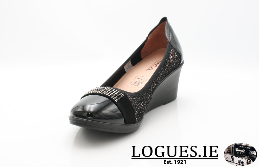 SAGAIB INEA A/W18-Ladies-INEA SHOES-16 NOIR-QUAORI-36 = 3 UK-Logues Shoes