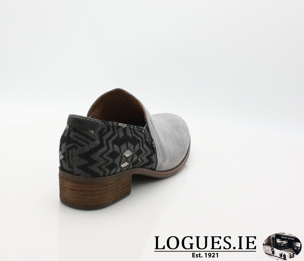 SHAYE BOTIE-Ladies-TOMS SHOES-SHADE SUEDE-8 UK = 10 US-Logues Shoes