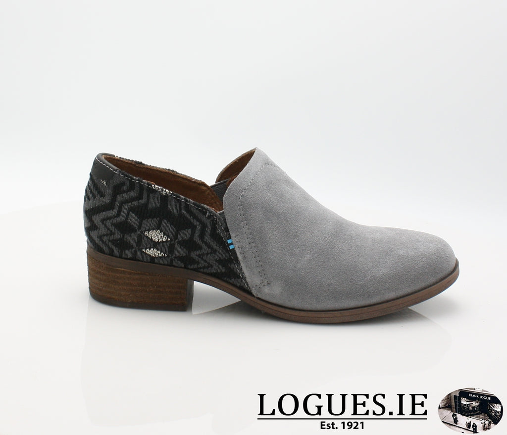 SHAYE BOTIE-Ladies-TOMS SHOES-SHADE SUEDE-3UK = 5 US-Logues Shoes