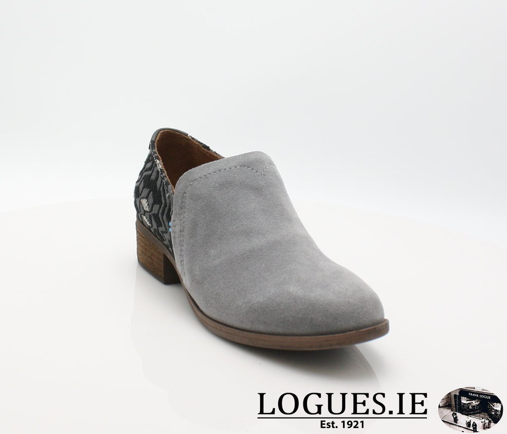 SHAYE BOTIE-Ladies-TOMS SHOES-SHADE SUEDE-4 UK = 6 US-Logues Shoes