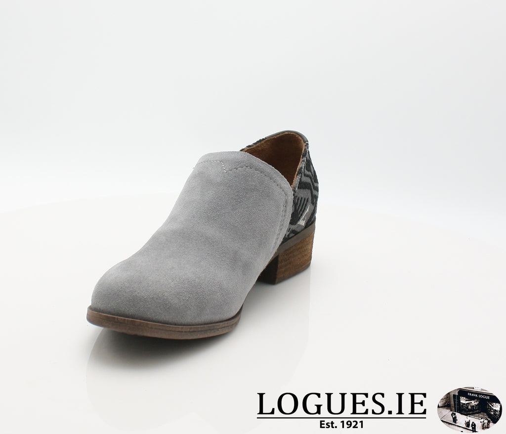 SHAYE BOTIE-Ladies-TOMS SHOES-SHADE SUEDE-5 UK =7 US-Logues Shoes