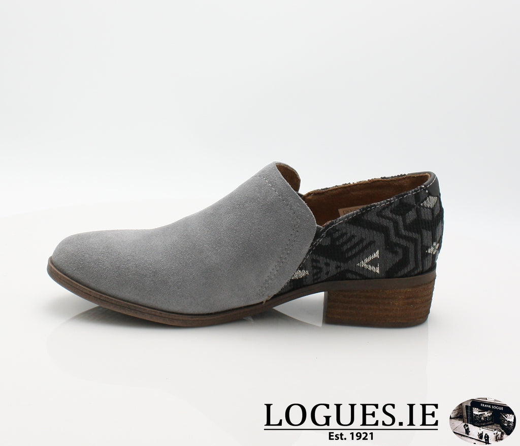 SHAYE BOTIE-Ladies-TOMS SHOES-SHADE SUEDE-6 UK = 8 US-Logues Shoes