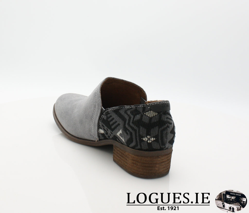 SHAYE BOTIE-Ladies-TOMS SHOES-SHADE SUEDE-7 UK = 9 US-Logues Shoes