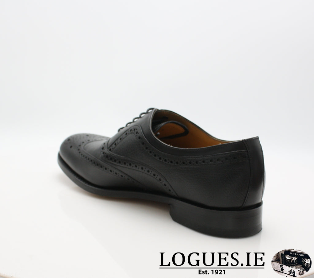 SOUTHPORT BARKER-Mens-BARKER SHOES-BLACK - DEER-6 UK -39 EU- 7 US-Logues Shoes
