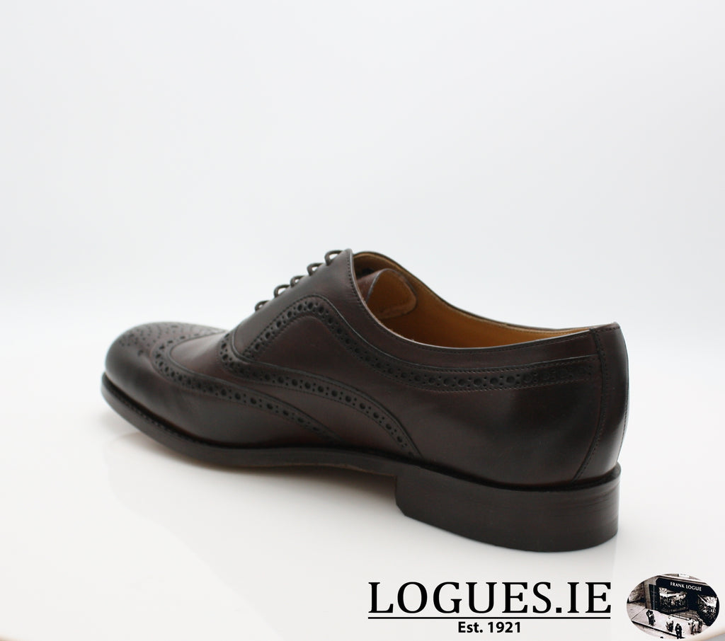 SOUTHPORT BARKER-Mens-BARKER SHOES-DK WALNUT-6 UK -39 EU- 7 US-Logues Shoes