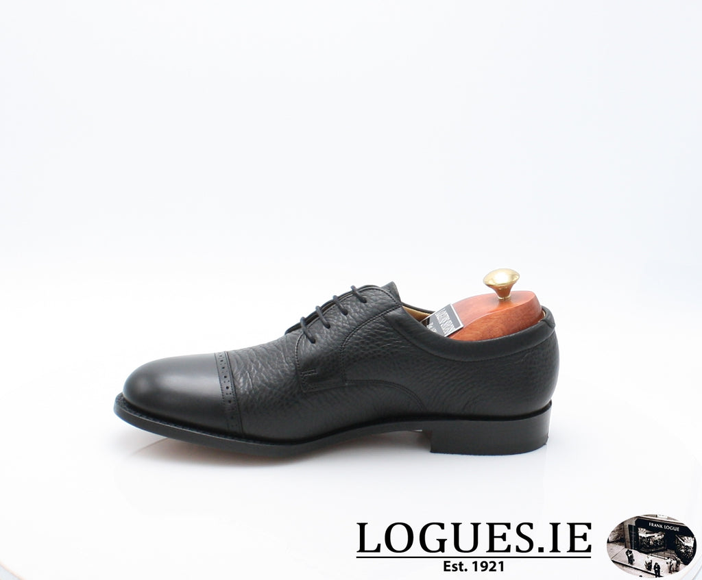 STAINES BARKER-Mens-BARKER SHOES-BLACL-9.5-Logues Shoes